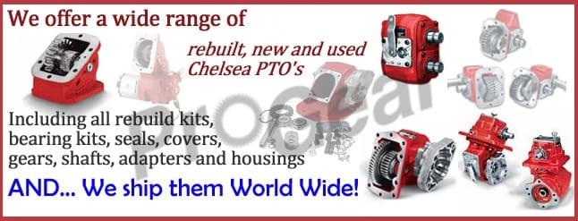 Chelsea dual output PTO